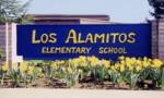 Photo: Los Alamitos Elementary School sign