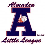 logo: almaden little league baseball
