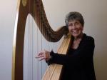 photo: Harpist Elizabeth Erickson