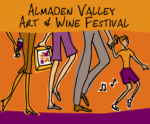 logo: Almaden Valley Art & Wine Festival