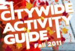 logo: Almaden Community Center Activity Guide Fall 2011