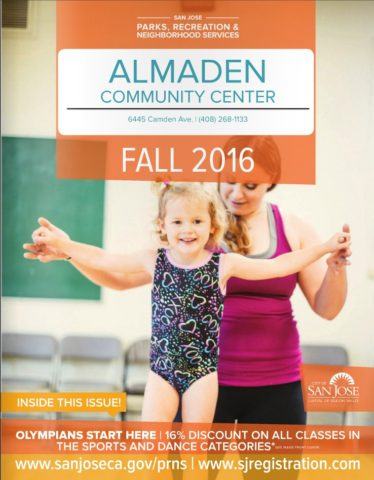 Almaden Community Center Activity Guide