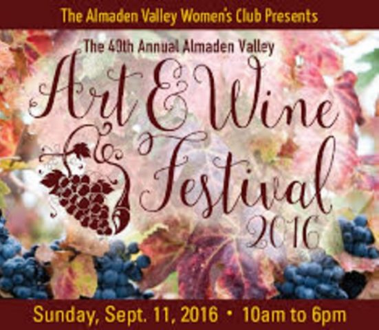 Almaden Valley Art & Wine Festival 2016