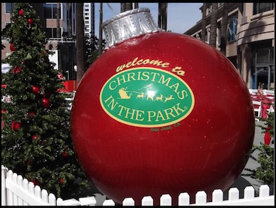 Family Holiday Traditions Christmas in the Park