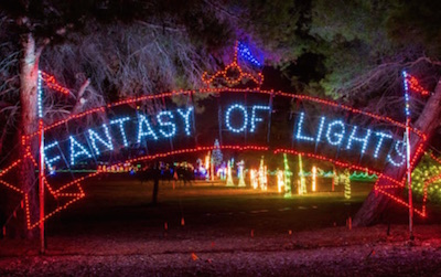 Family Holiday Traditions Fantasy of Lights