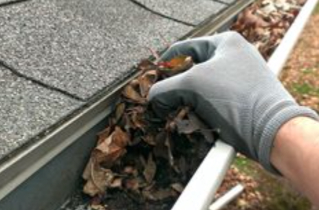 Spring cleaning checklist - gutters
