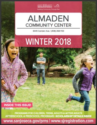 Almaden Community Center Winter 2018