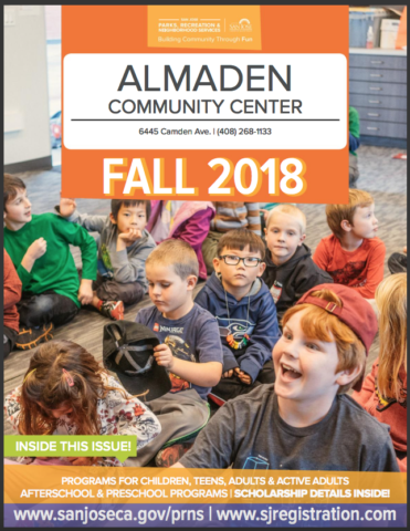 Almaden Community Center Fall 2018