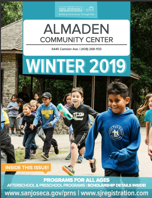 Almaden Community Center Winter 2019