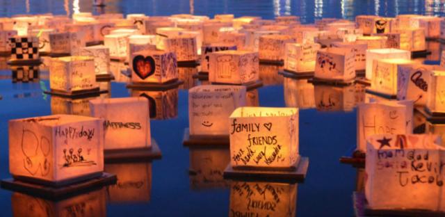Water Lantern Festival October 2019