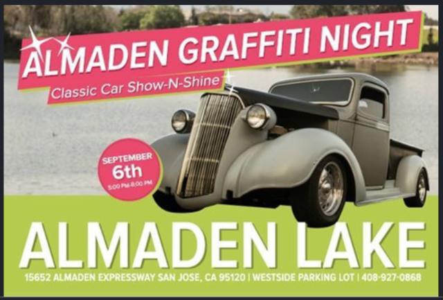 Almaden Graffiti Night